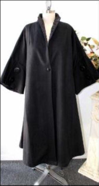 Front Black Coat